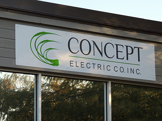 Concept Electric Sign
